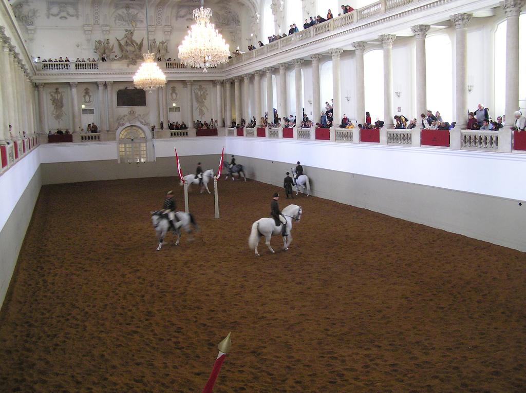 Escuela Española de Equitación en Viena