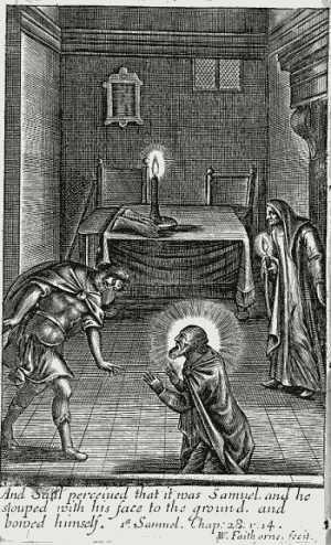 שאול ובעלת האוב