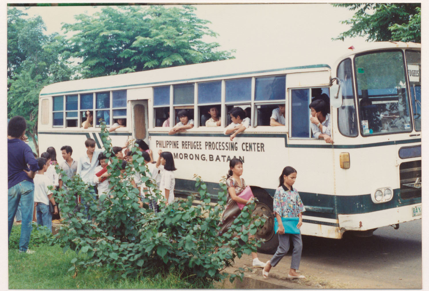 File:Philippine refugee processing center bus.jpg - Wikimedia Commons