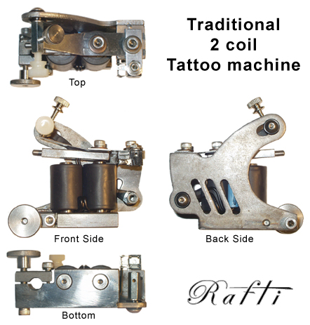 Embossment Tattoo Machine Tattooing will never be as fast as it is without
