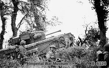 File:7th Royal Tank Regiment supporting 8th Royal Scots 28-06-1944 ...