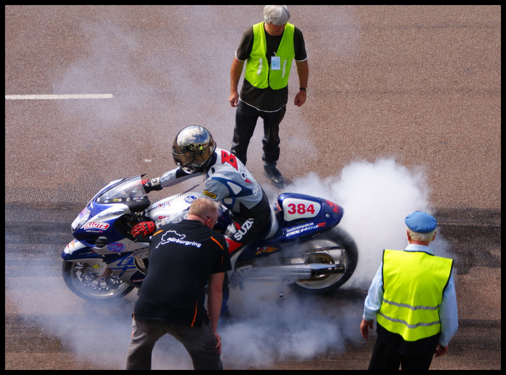 hayabusa burnout