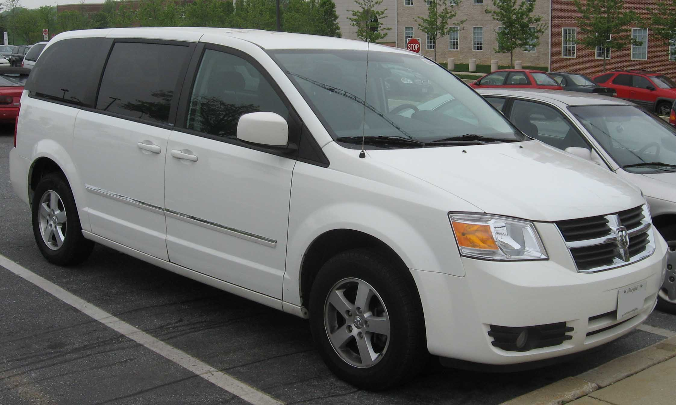 Dodge Grand Caravan wide car wagon