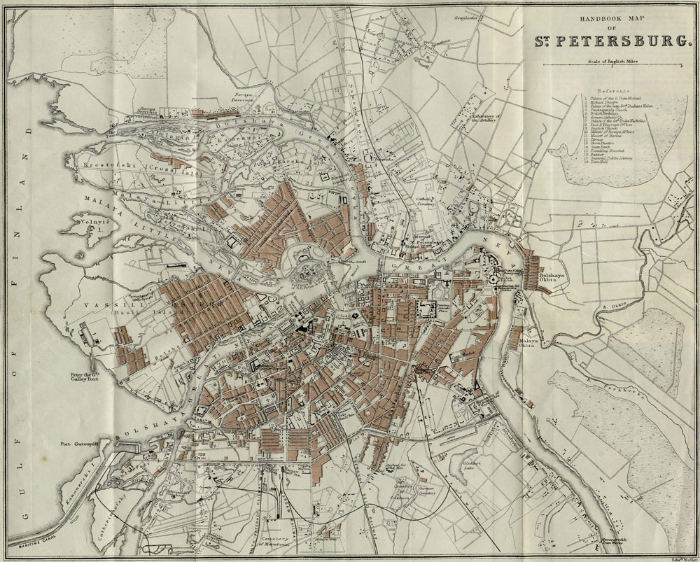 st petersburg uga map townsend port