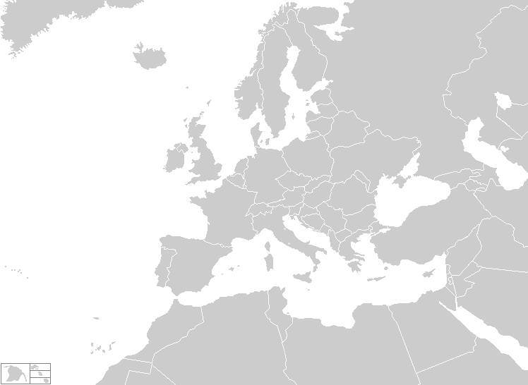blank map of western europe countries. Western Europe Map Quiz click