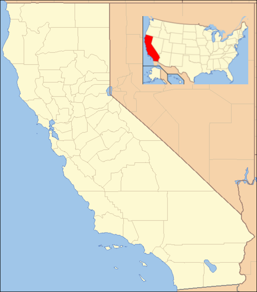 Us Map California