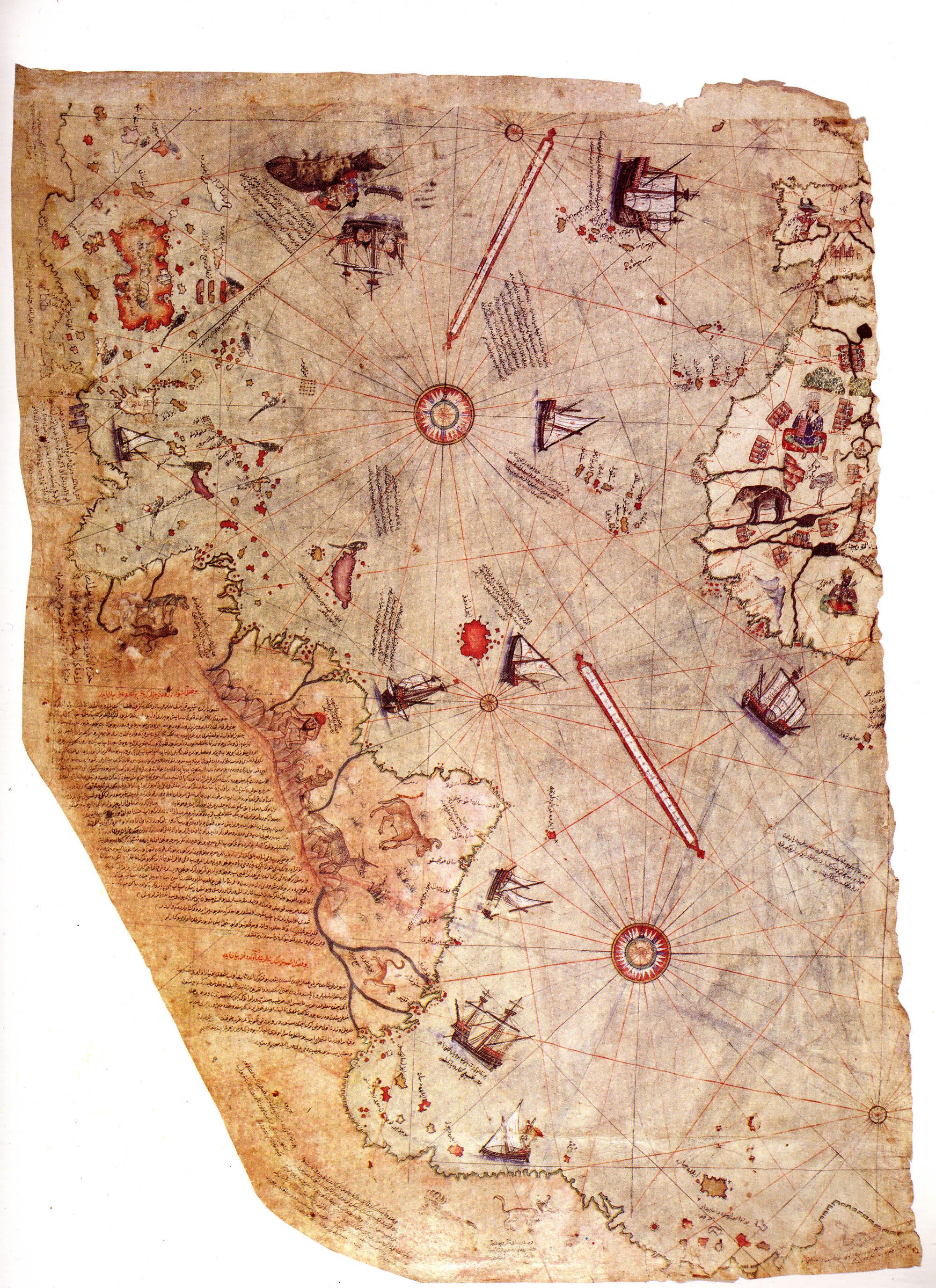Карта адмирала Пири