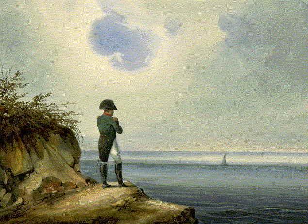 Napoleón en santa Elena
