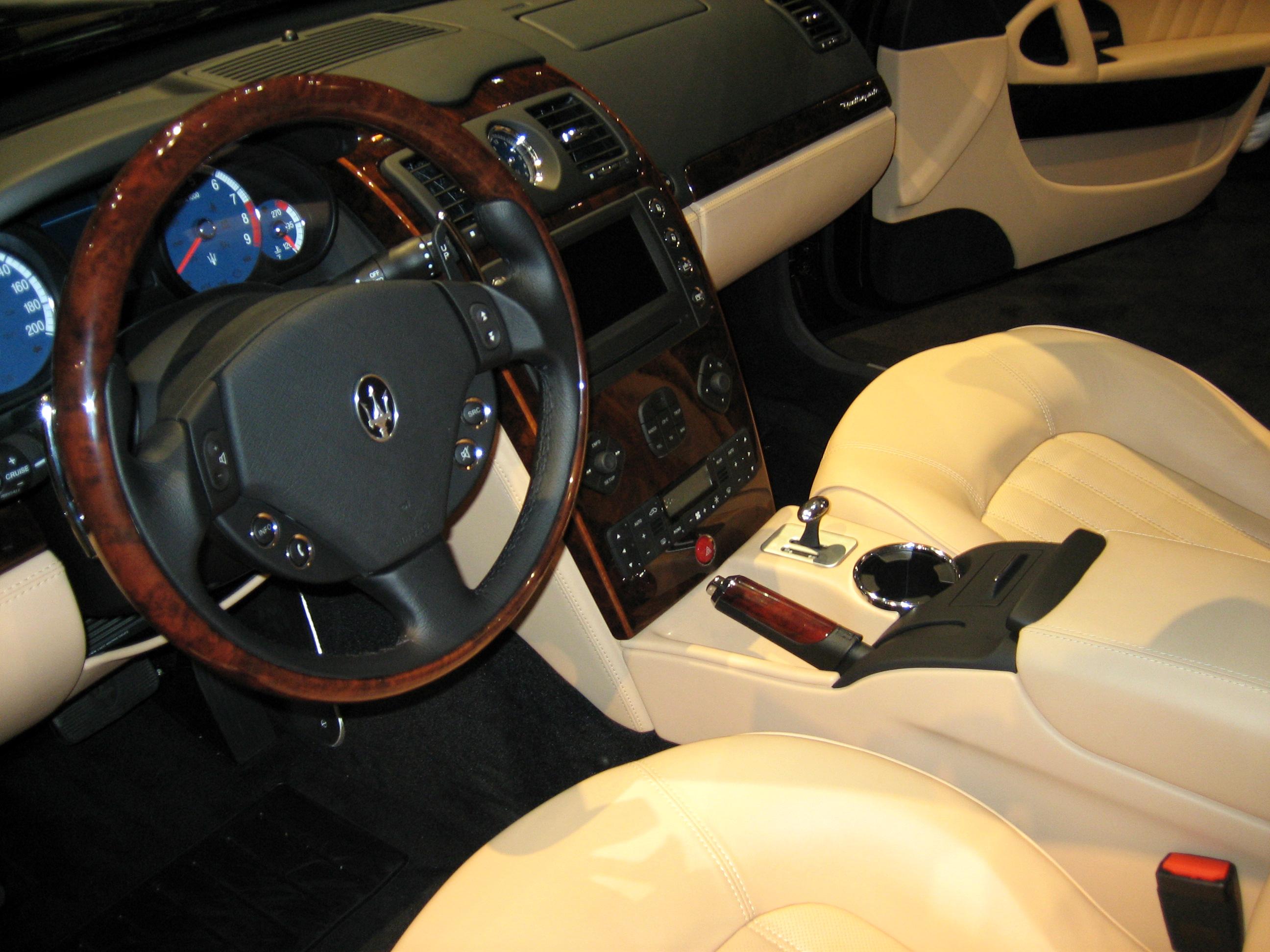 Maserati+gt+interior