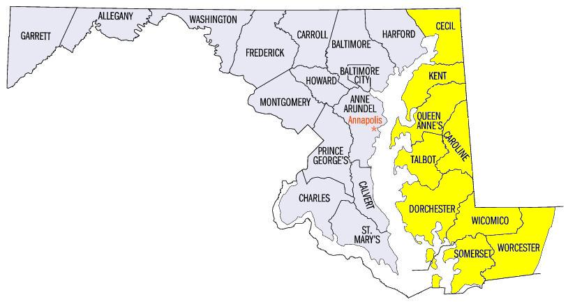 File:Map of maryland counties eastern.PNG - Wikimedia Commons
