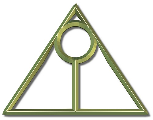 DEATHLY HALLOWS SIGN TATTOO 2011