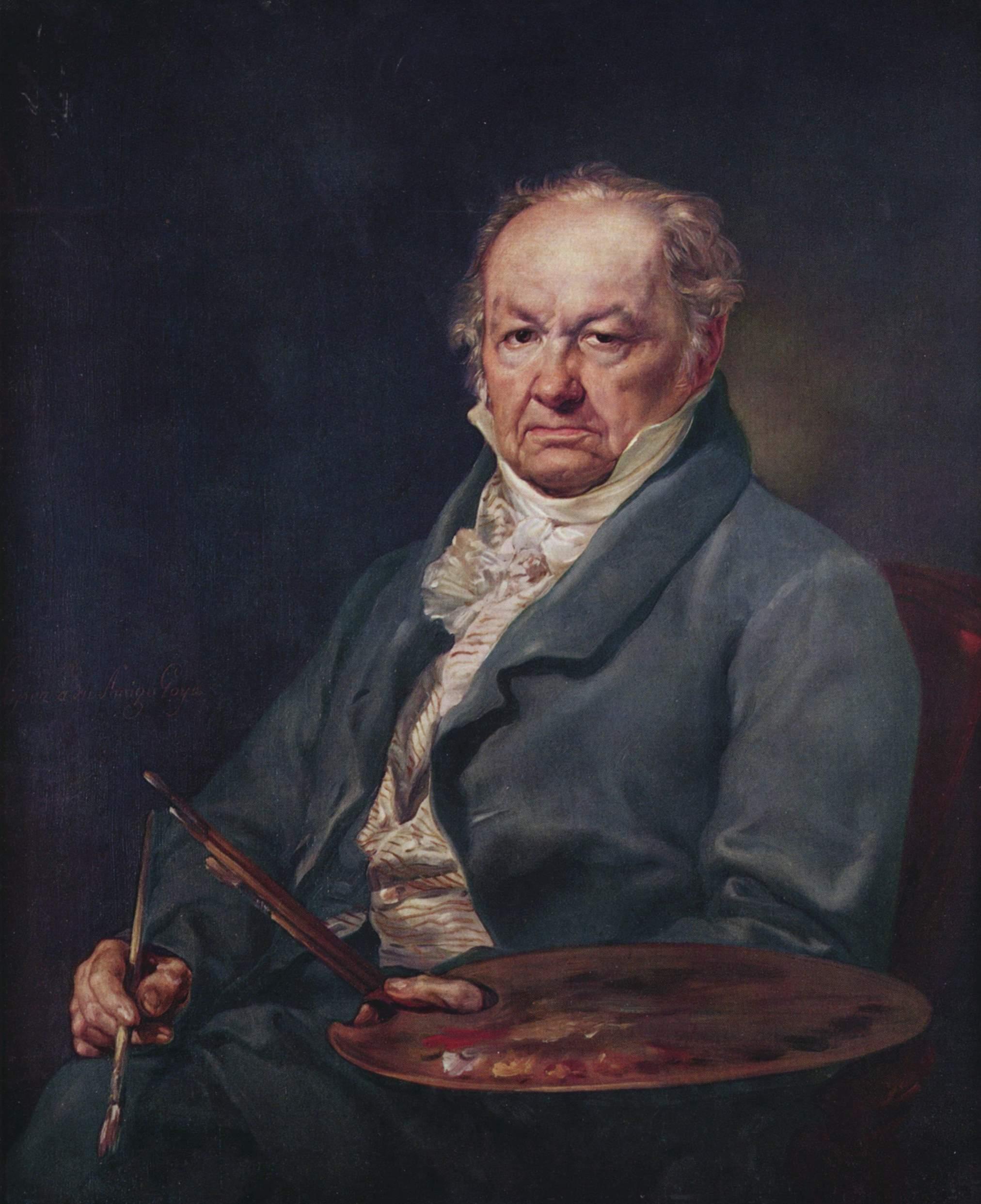 Portrait of Francisco De Goya