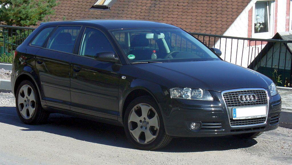 Audi A3 White Sportback. File:Audi A3 Sportback black.
