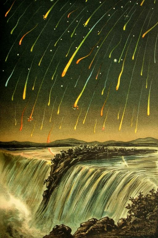 1833 Leonid Meteor Shower