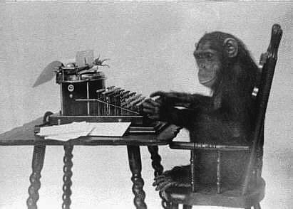 Typing monkey