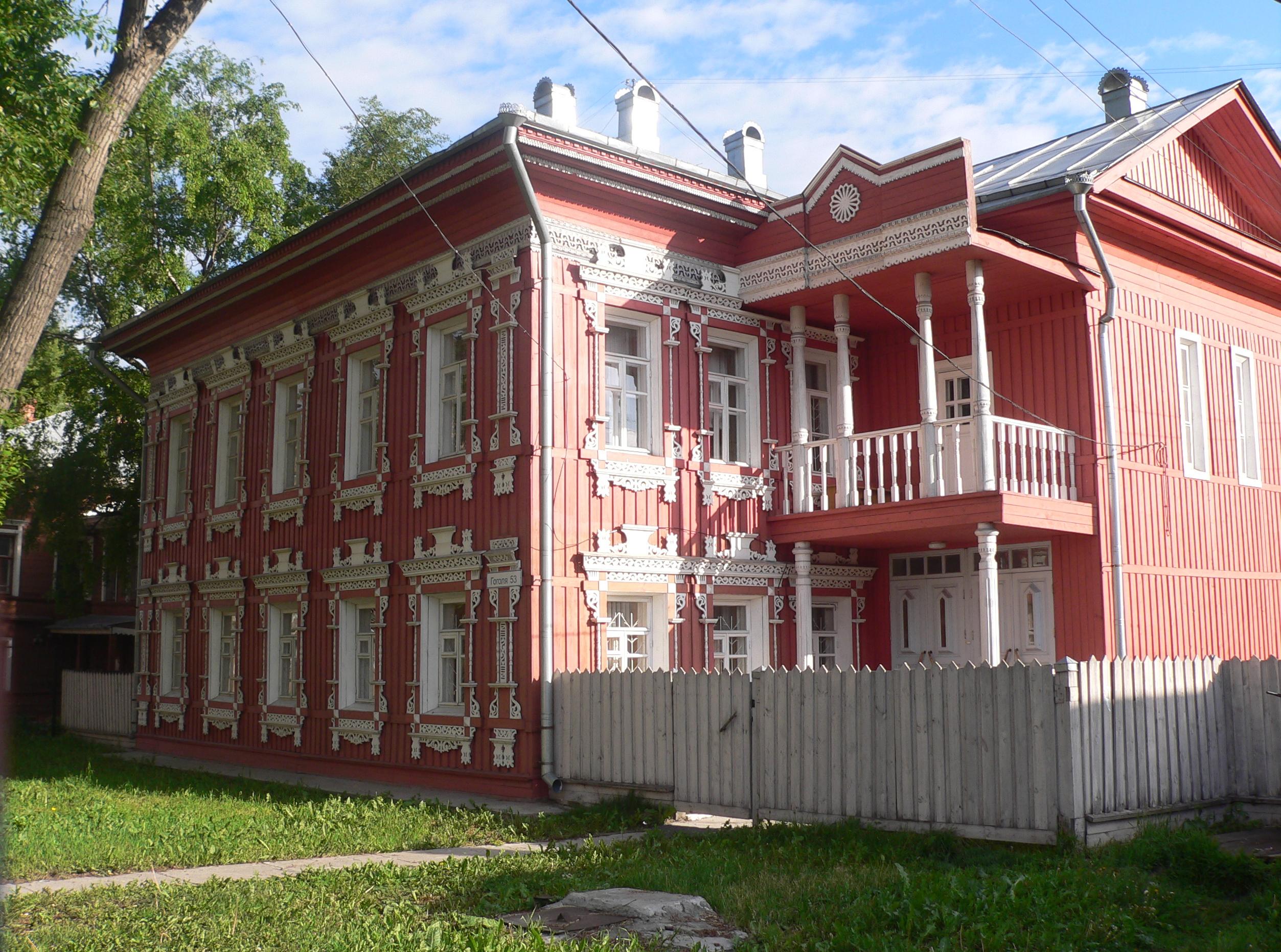 Фото вологодских деревянных домов