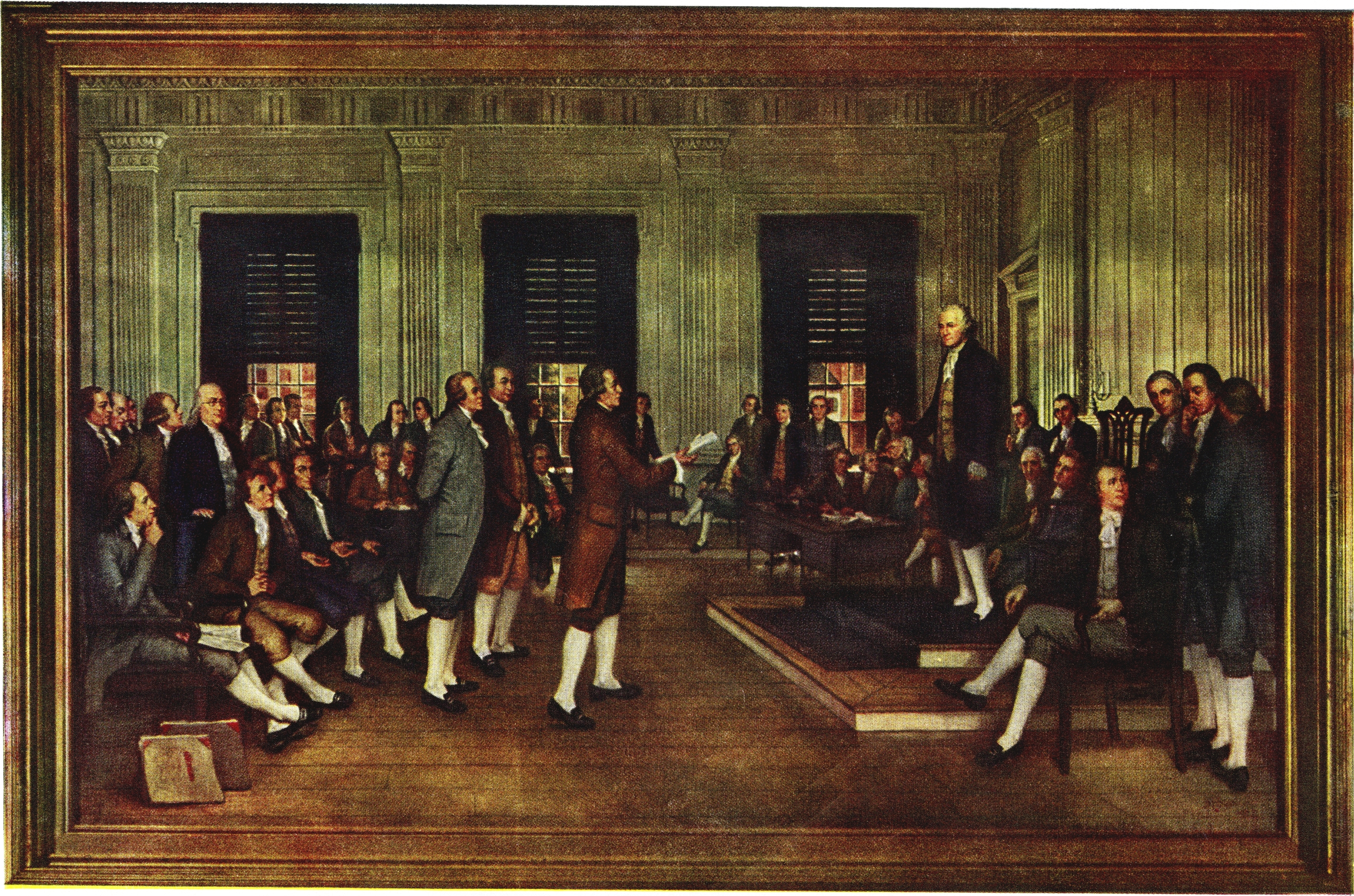 constitutional convention The constitutional convention was held between may and september 1787 in philadelphia, pennsylvania to deal with the glaring weaknesses with the articles of confederation.