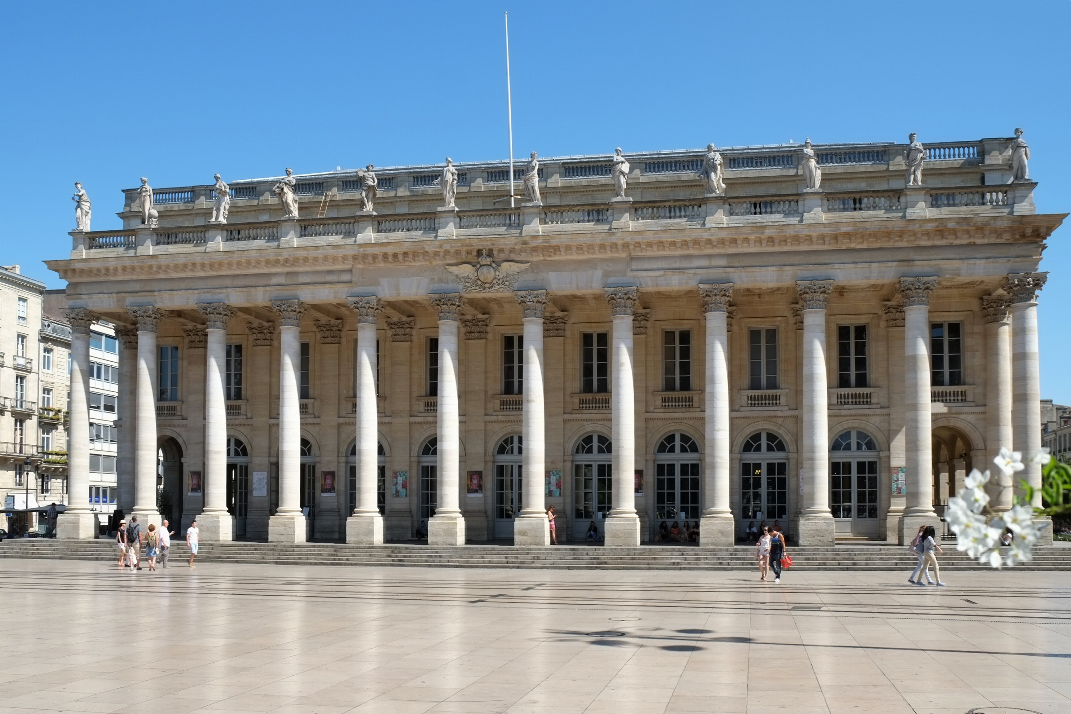 File 034 Grand Theatre Siege De L Opera National Bordeaux Jpg