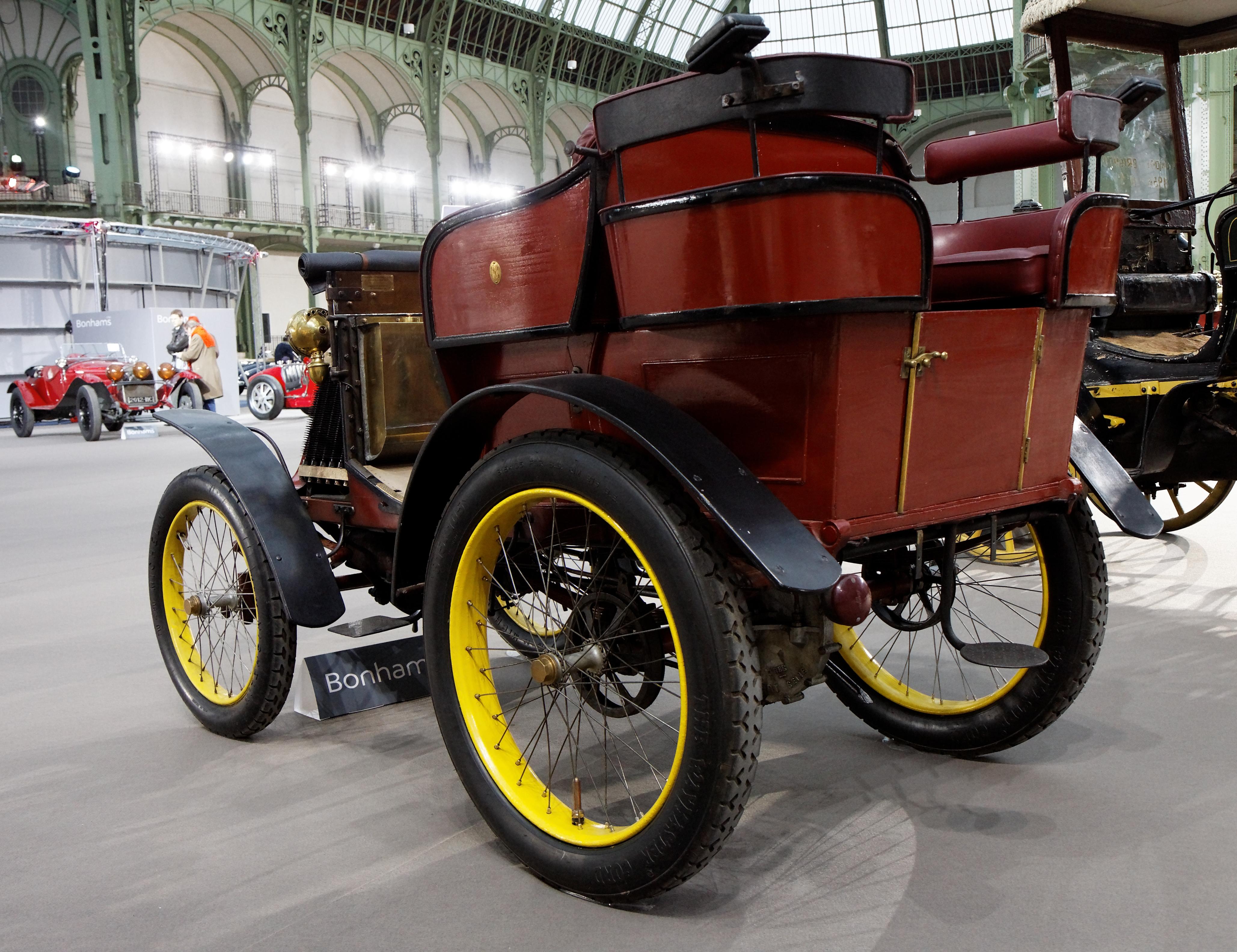 file 110 ans de l u0026 39 automobile au grand palais - renault type c tonneau 3 5 cv - 1900