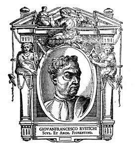 Giovanni Francesco Rustici Italian artist