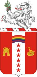 150th Field Artillery Regiment Coat of Arms
