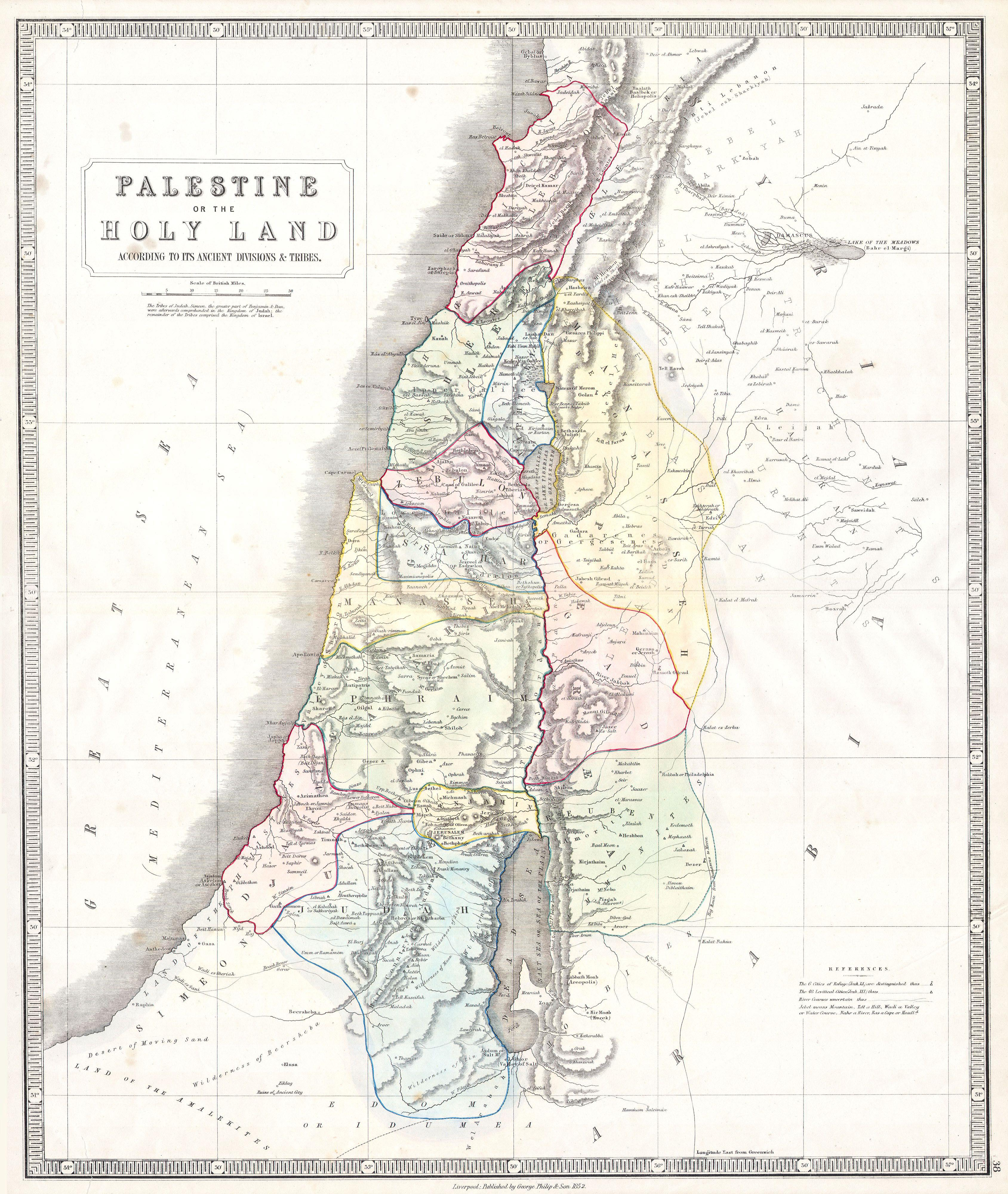 File:1852 Philip Map of Palestine - Israel - Holy Land ... on palestinian people, map of prehistoric palestine, west bank, map palestine in jesus day, ottoman empire, map of original palestine, map of turkish palestine, jordan river, canaan palestine, map of first century palestine, new testament palestine, map of roman palestine, middle east, map of ancient bible lands, map of historical palestine, map of israel palestine, gaza strip, six-day war, palestinian territories, dead sea, cities in palestine, map of british palestine, map of medieval palestine, yasser arafat, map of ancient palestine, map of modern day palestine, map of jesus palestine,