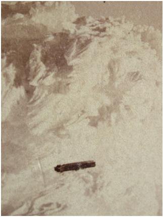 Sebuah BETA di atas New Hampsire pada tahun 1870, yang dikenal sebagai kapal terbang misterius.