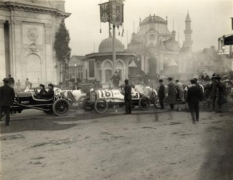 1915 San Francisco PPIE racing cars 2