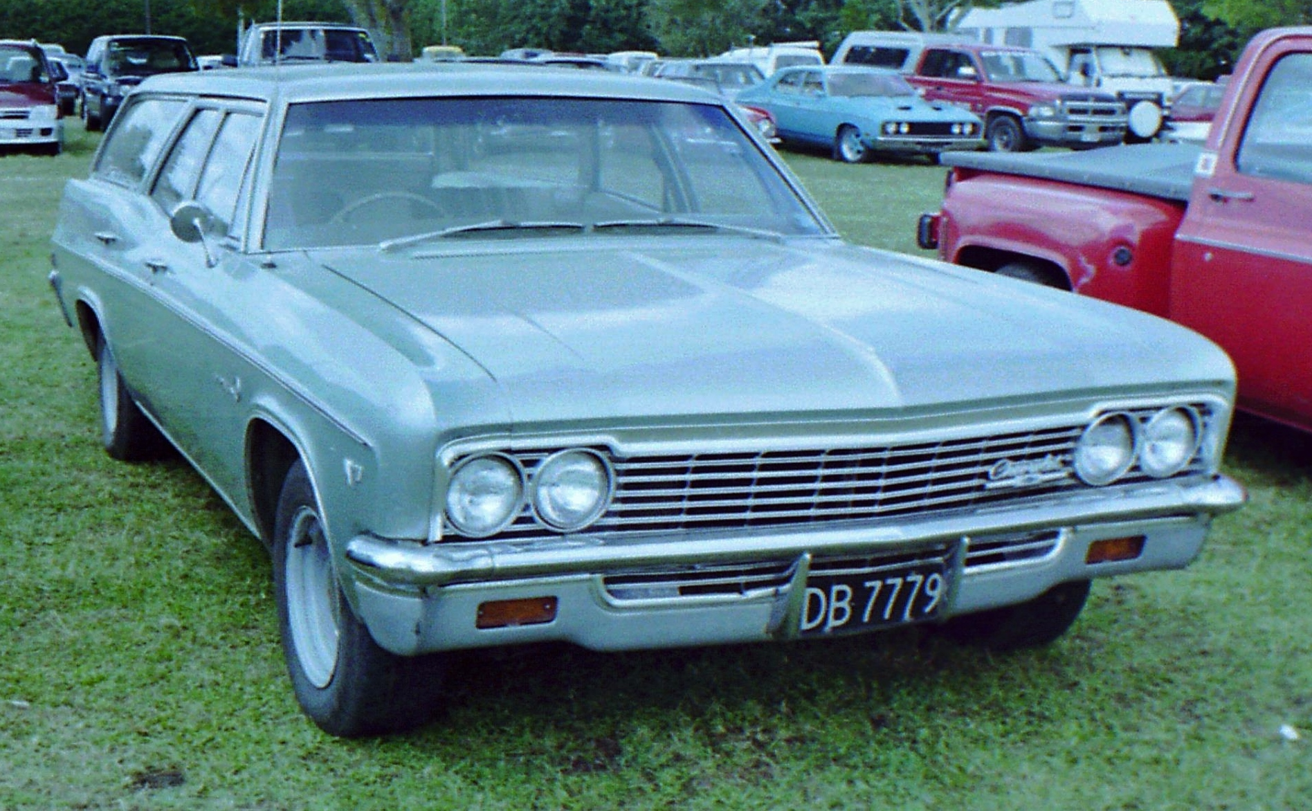 1966 chevy impala station wagon