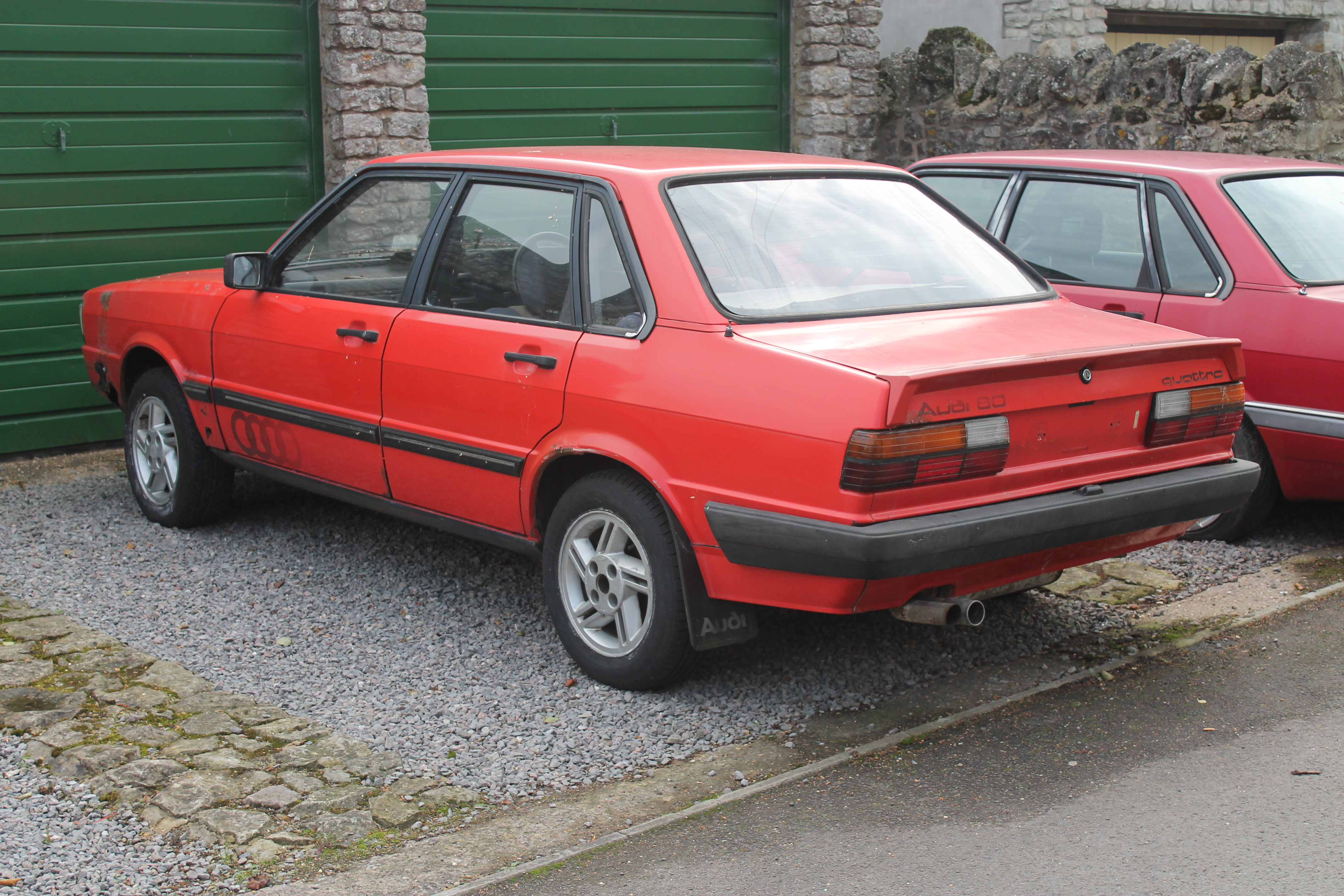 File:1980s Audi 80 Quattro (9983691954).jpg - Wikimedia Commons