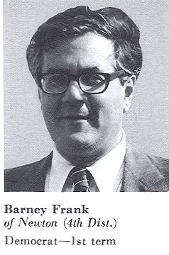 Congressional Portrait, Congressman Barney Frank