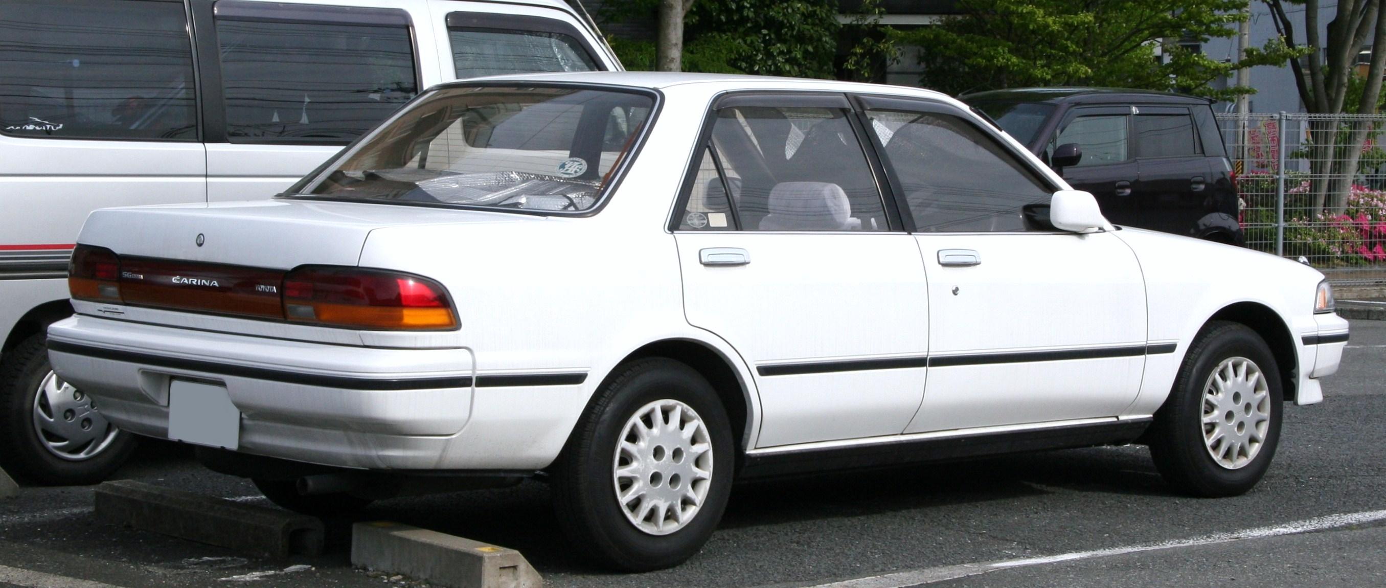 тойота карина 1992 запчасти