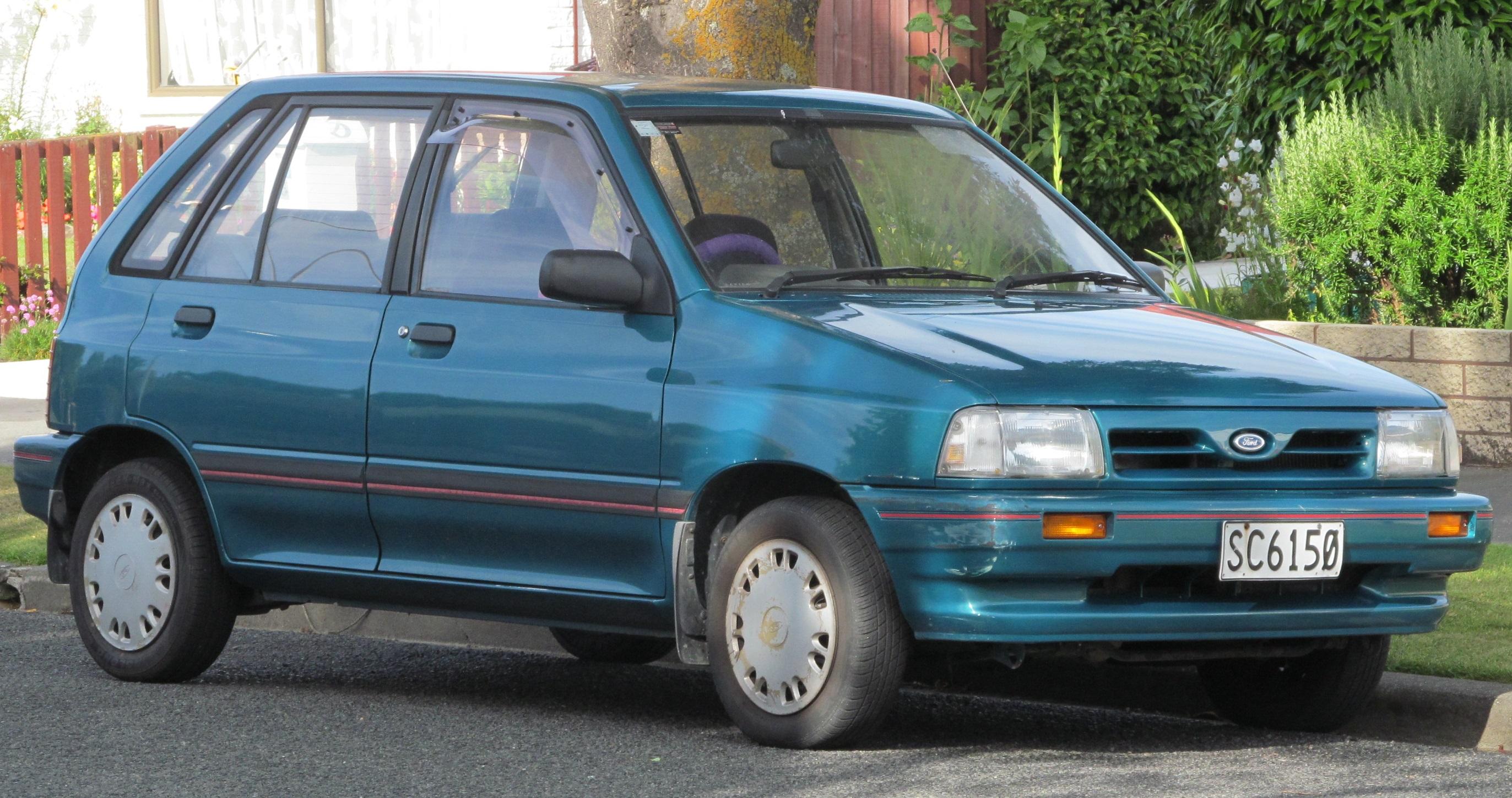 File1993 Ford Festiva GL Facelift New Zealand