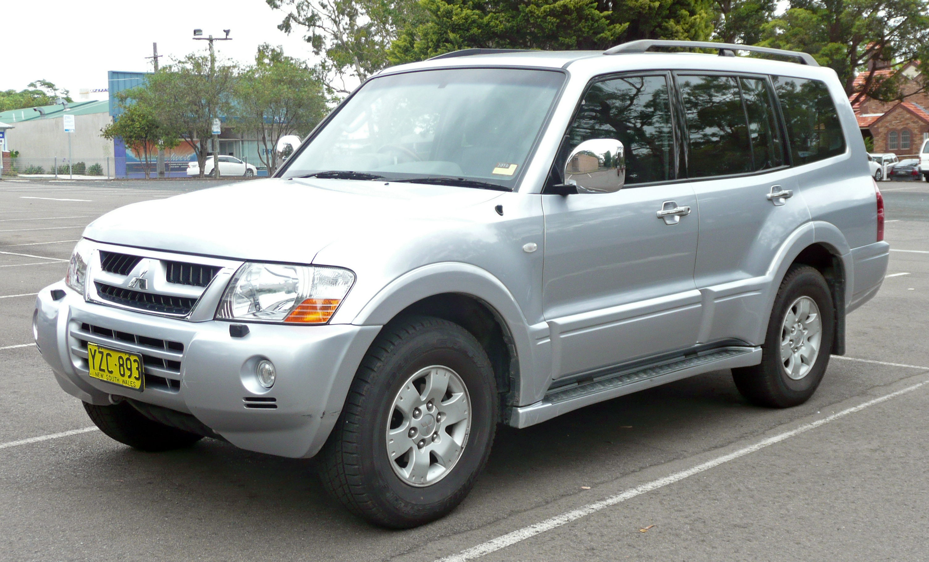 2006 Mitsubishi Pajero 3.2 DI-D related infomation,specifications - WeiLi Automotive Network
