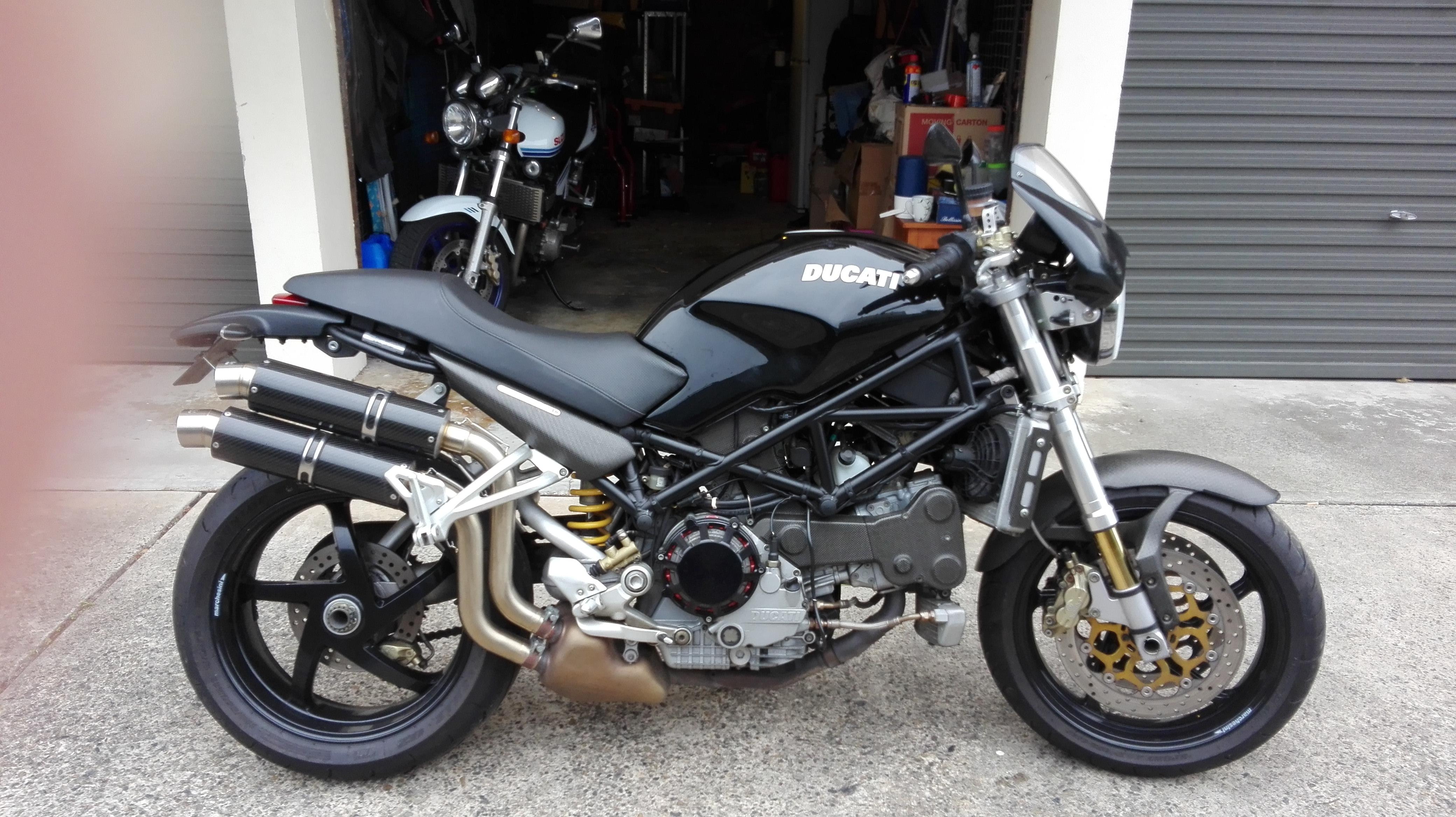 2003 Ducati Monster S4R Monster S4R (2003 - 07)