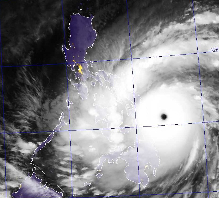 Sabah is located south of the [[typhoon
