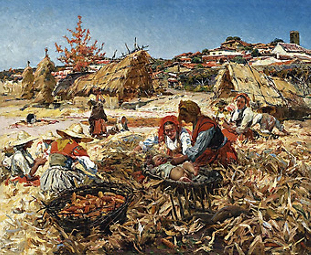 A descamisada, 1903 (Figueiró dos Vinhos, Portugal) (6819241996).jpg