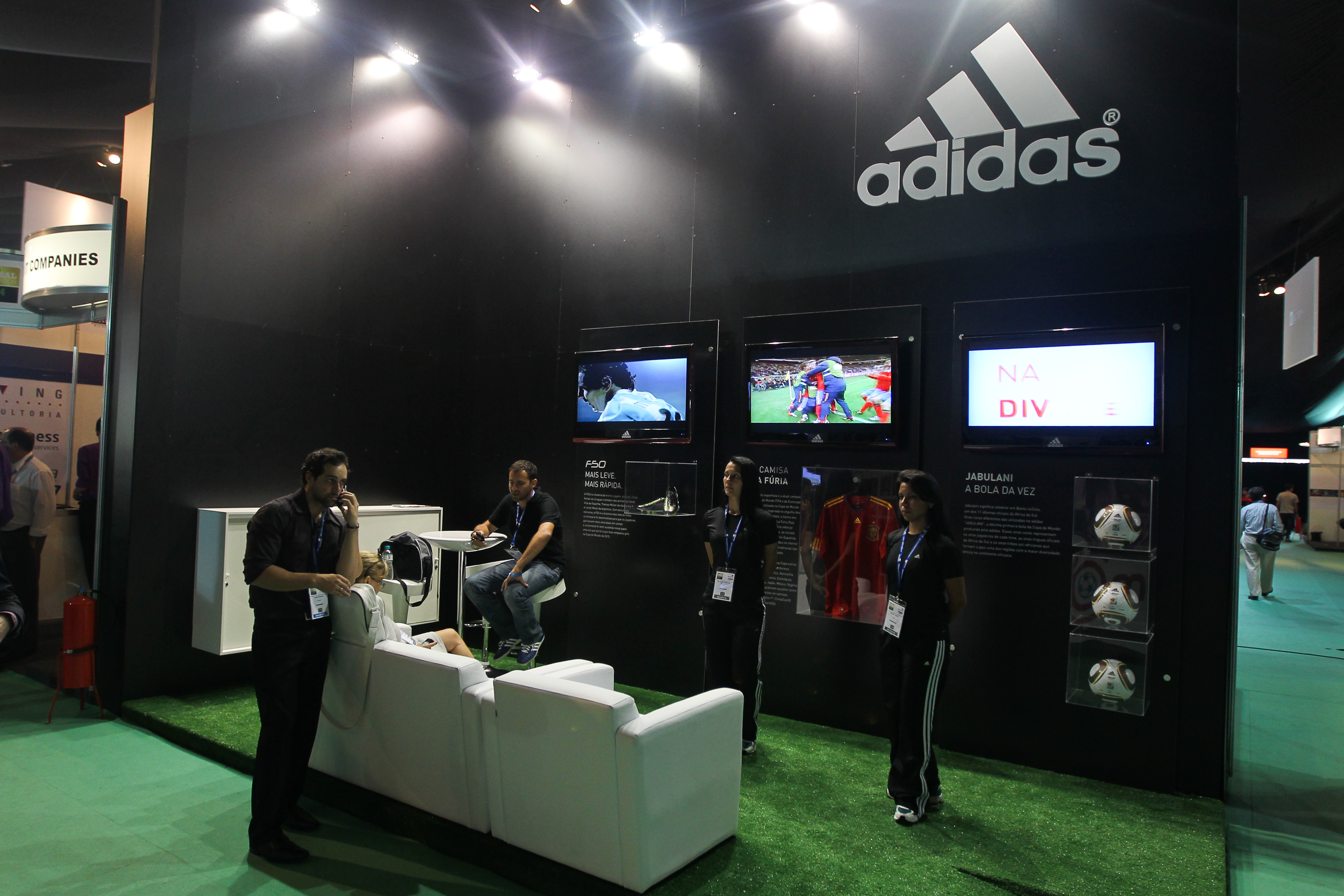 Adidas exhibition Stand