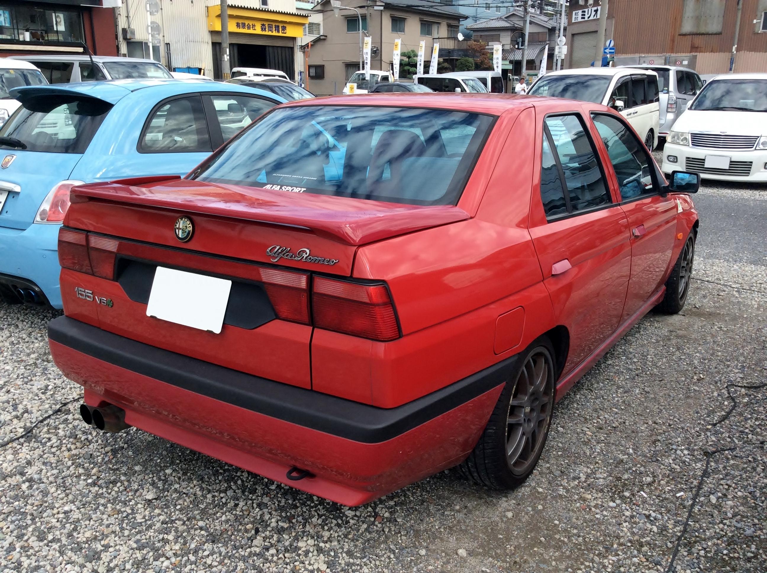 File:Alfa Romeo 155 2.5 V6 (E-167A1E) rear.JPG