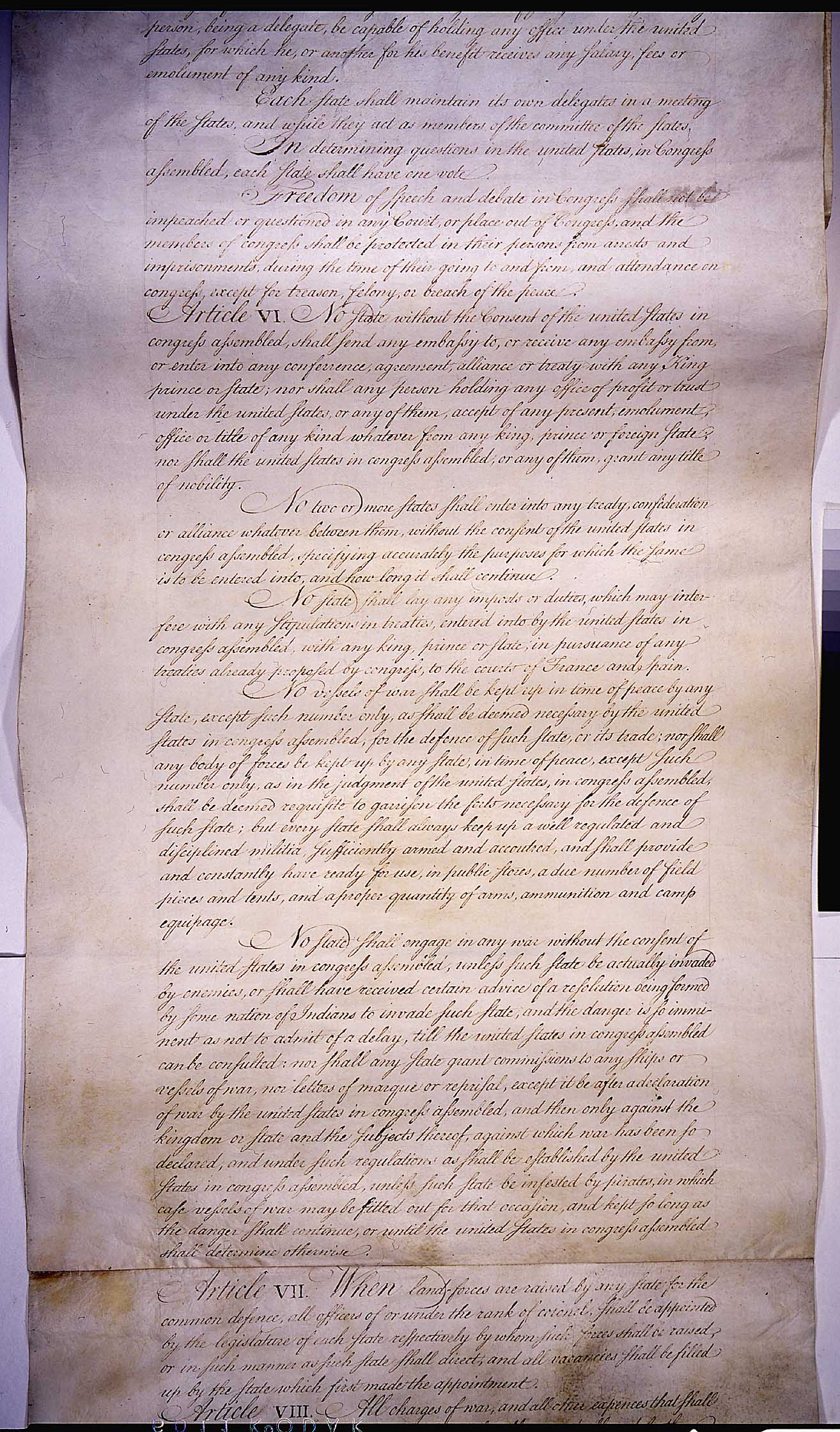 articles of confederation provided the united states with an effective government essay The articles of confederation did not provide the united states with an effective government it lacked many powers that we now have for example the government in the 1780's couldn't impose taxes.