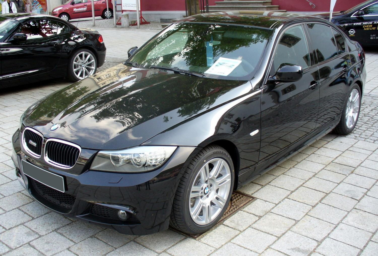 file bmw e90 320d m sport facelift jpg wikimedia commons. Black Bedroom Furniture Sets. Home Design Ideas