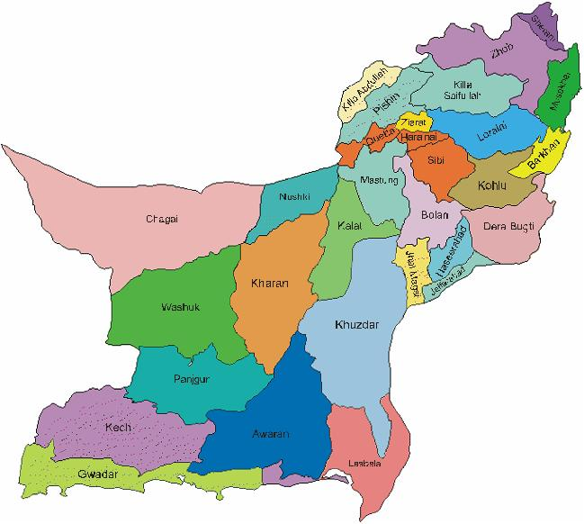 history of balochistan distic wise Durrani considered it wise to rule the tribe is also present in different areas of pakistan in balochistan makran division haripur district has two.