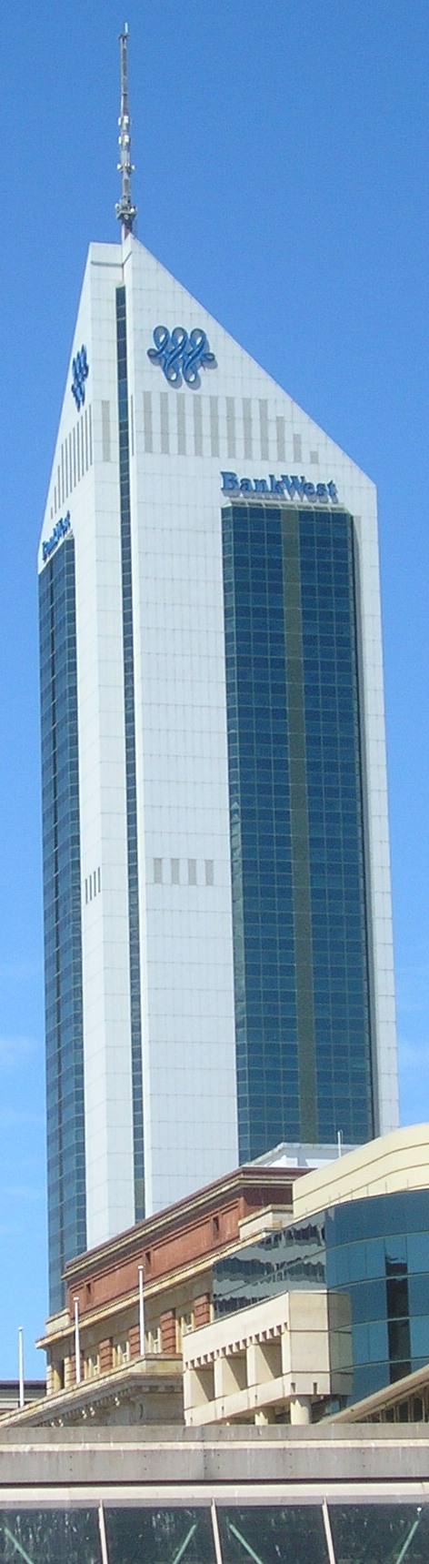 Landmarks in perth western australia for 137 st georges terrace perth