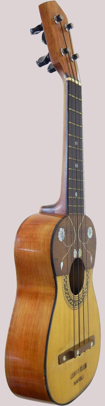 italian pre war decorated Soprano Ukulele