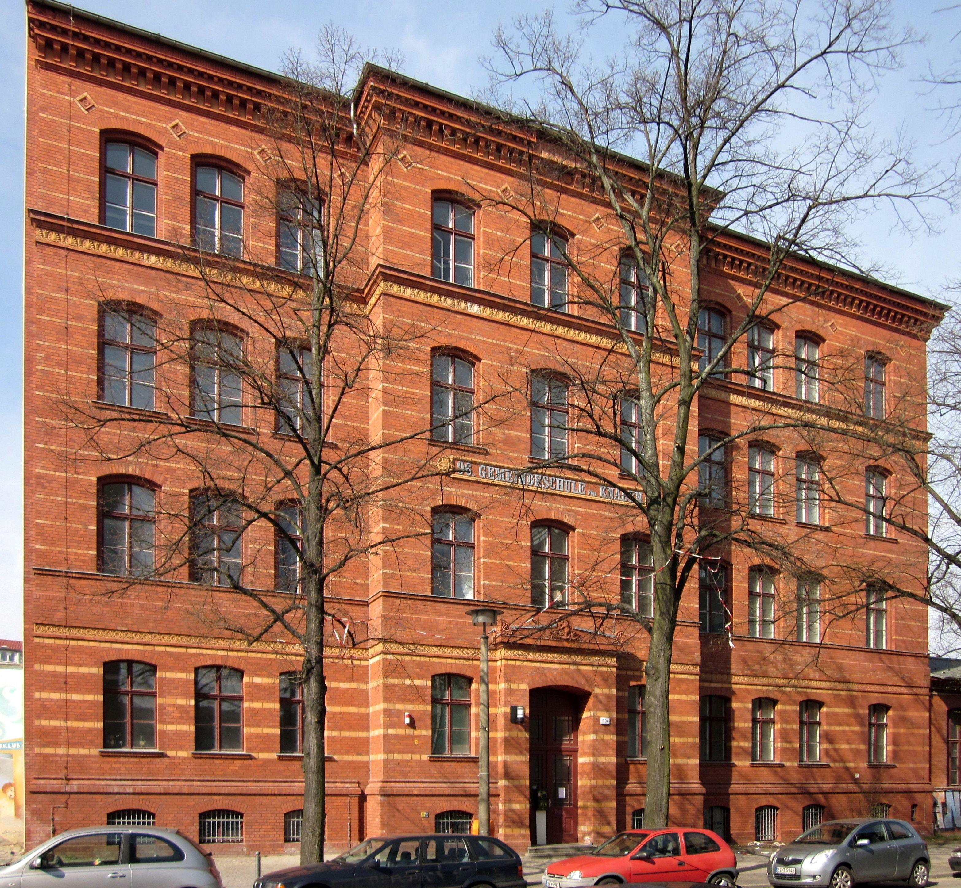 datei berlin mitte schwedter strasse 232 234 89 und 96 gemeindeschule. Black Bedroom Furniture Sets. Home Design Ideas