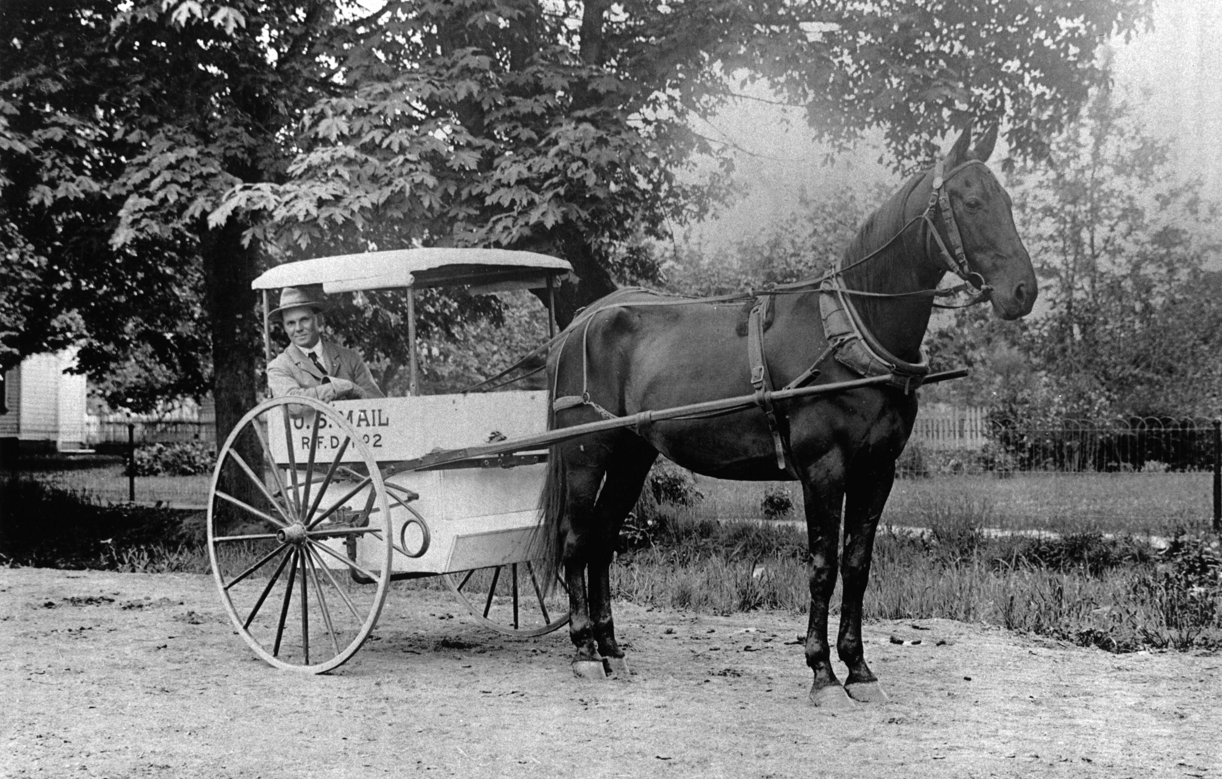 File:Bill Boyd, Postal Carrier 1910 (Beaverton, Oregon