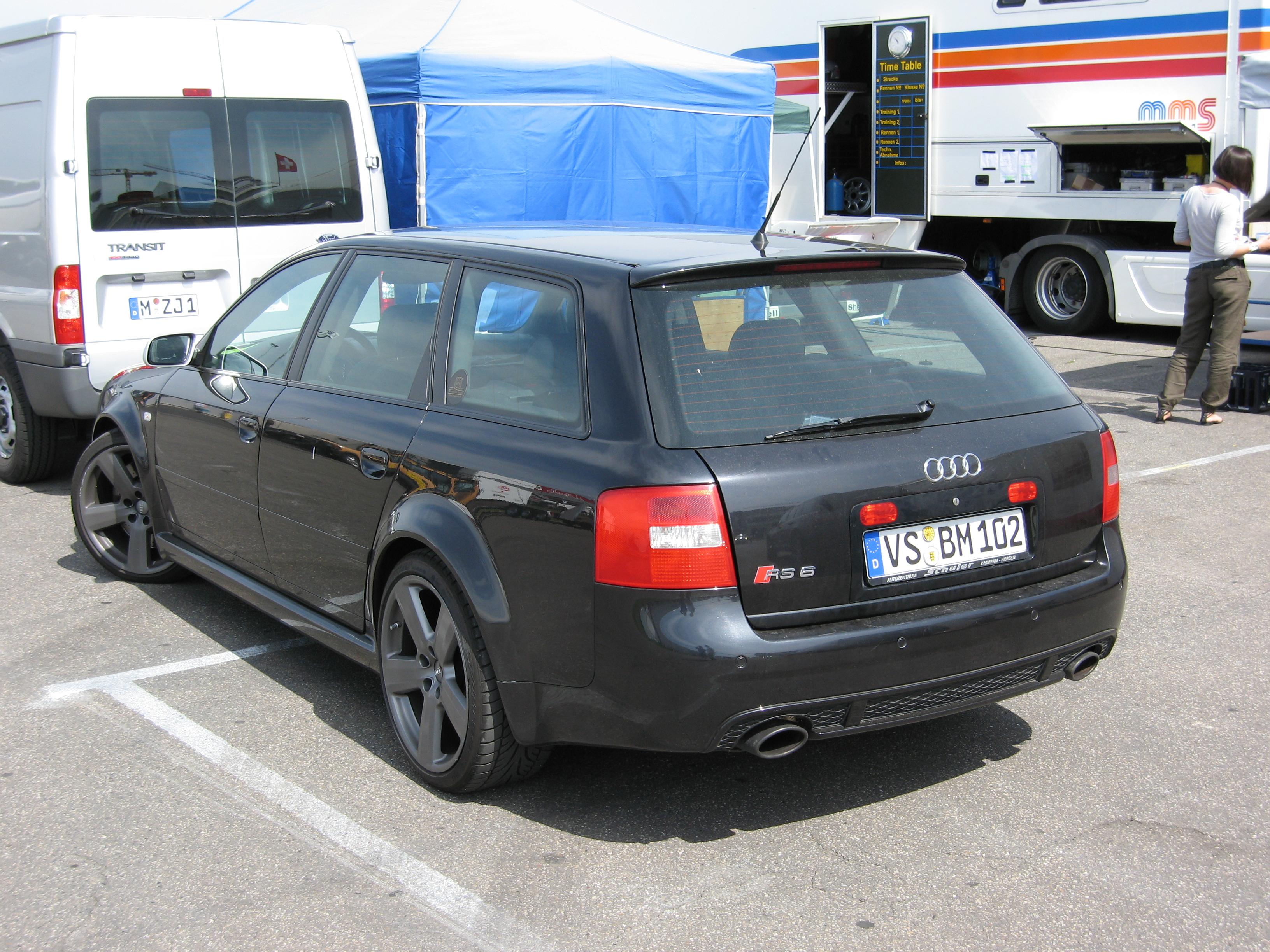 File Black Audi Rs6 C6 Avant Rl Jpg Wikimedia Commons