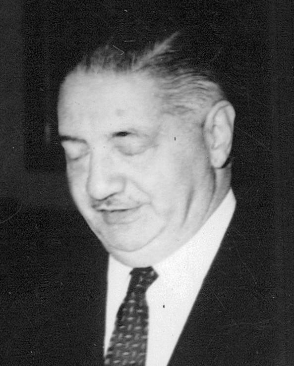 A portrait of Bonifacio del Carril