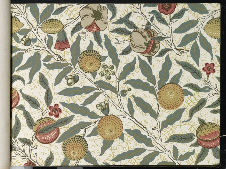 File Brooklyn Museum Wallpaper Sample Book 1 William Morris And Company Page061