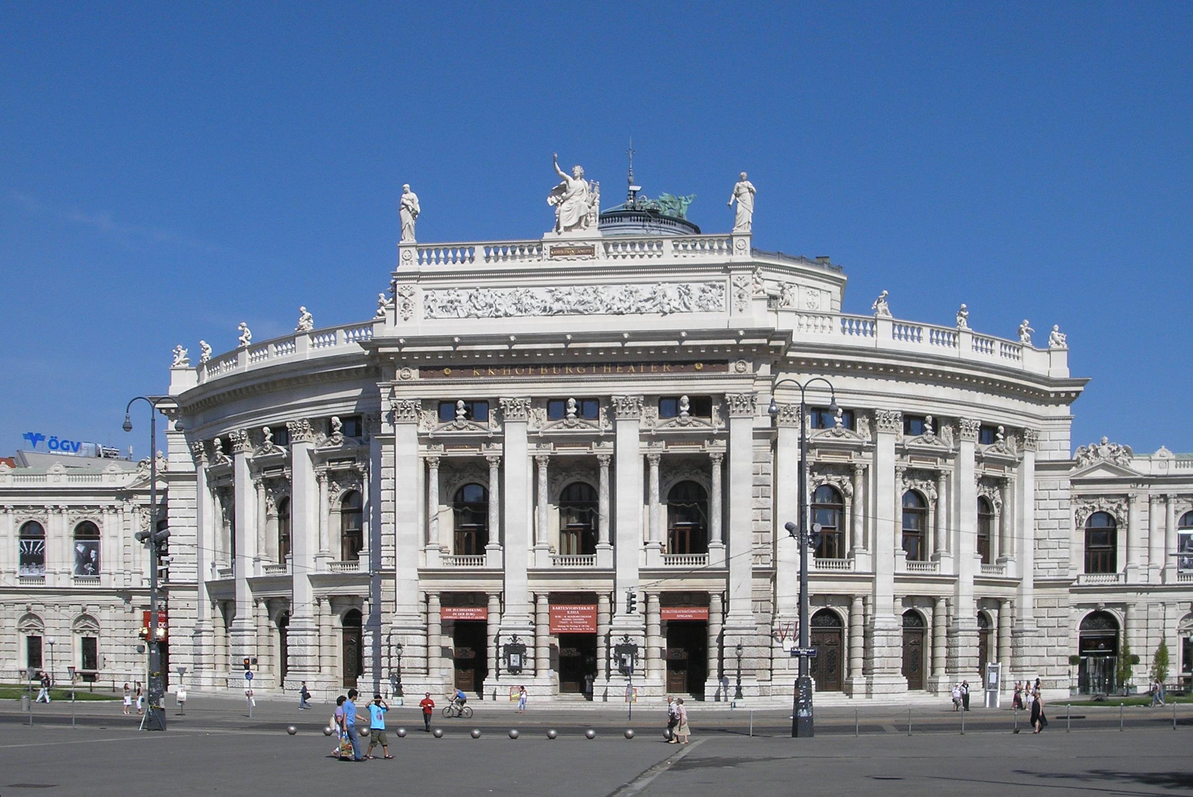 Datei burgtheater vienna june 2006 wikipedia - Office de tourisme de vienne autriche ...